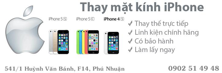 thay man hinh iphone 5 tphcm